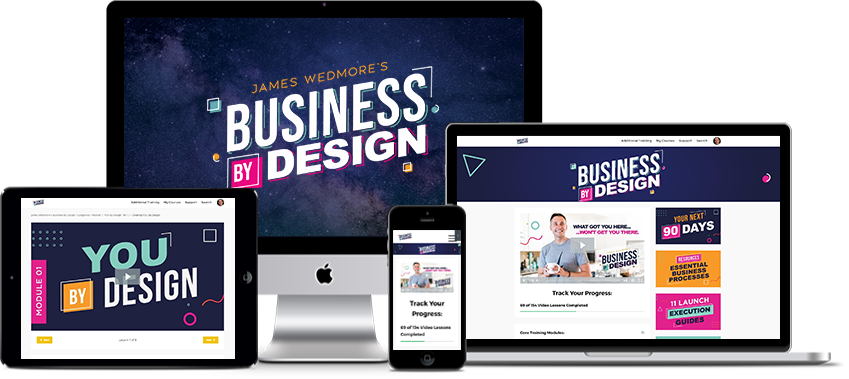 James Wedmore - Business By Design 2020