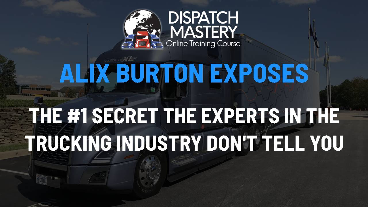 Dispatch Mastery Course – Good Energy Worldwide by Alix